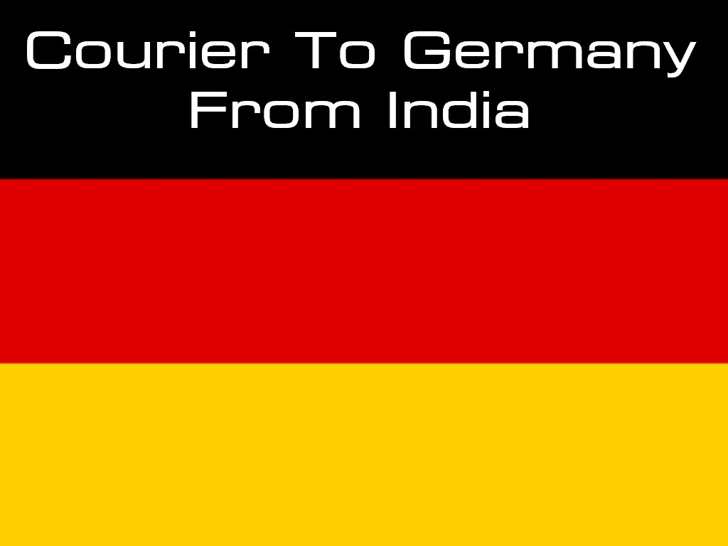 Courier Charges To Germany
