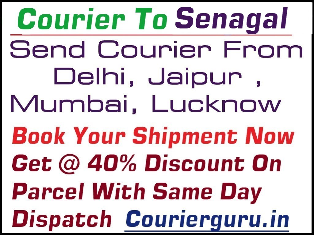 Courier Charges To Senegal From Delhi